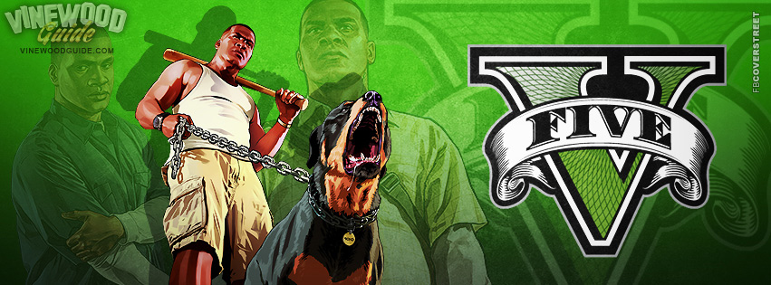 Franklin GTA V Logo  Facebook cover