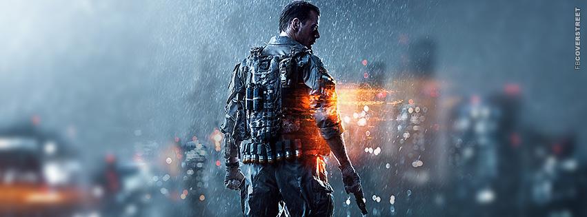 Battlefield 4  Facebook Cover
