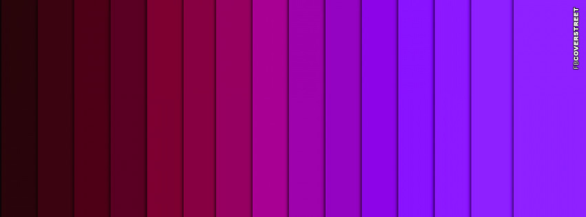 Shades of Pink and Purple  Facebook Cover