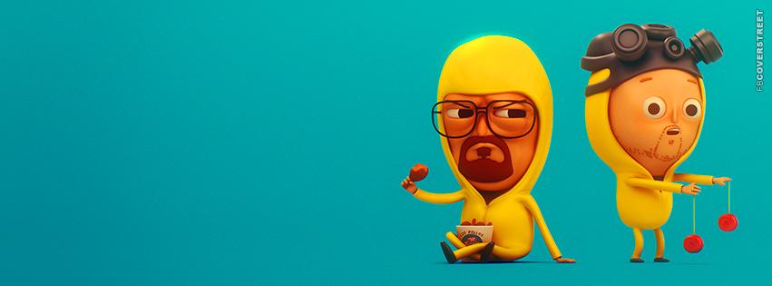 Heisenberg and Jesse Funny Artwork  Facebook Cover