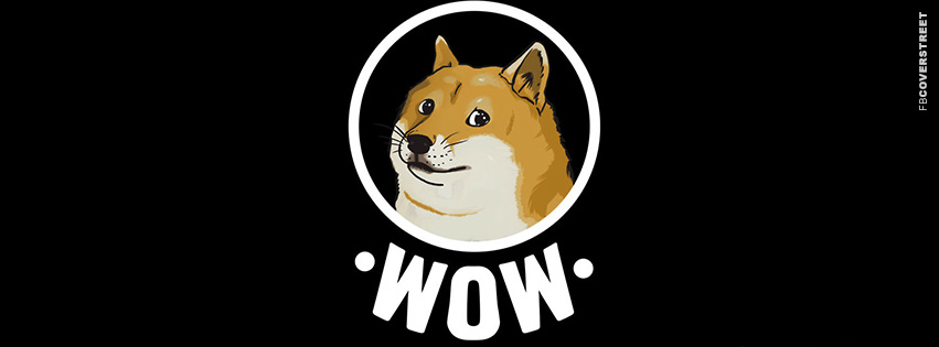 Doge Wow Meme Facebook Cover