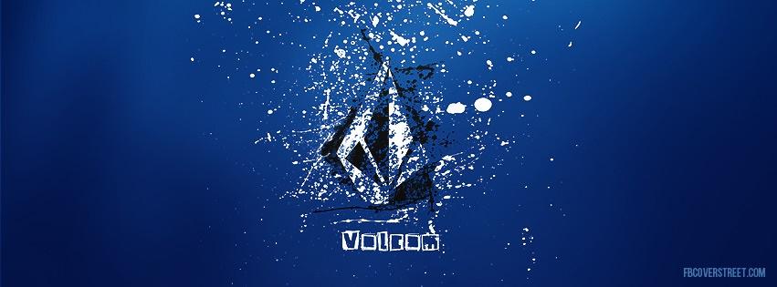 Volcom Paint Splatter Logo Facebook Cover