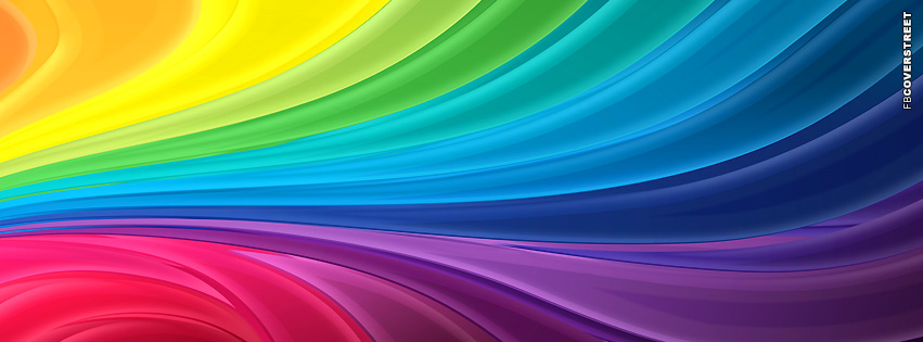 The Rainbow Facebook cover