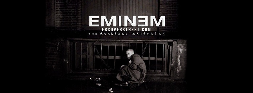 Eminem Marshall Mathers LP Facebook Cover
