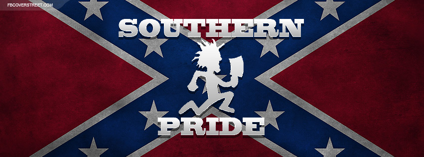 Hatchetman Souther Pride Confederate Flag Facebook Cover