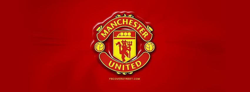 Manchester United Logo Facebook Cover