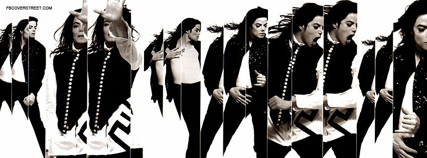 Michael Jackson Dancing In Mirrors Facebook Cover