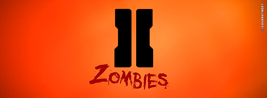 Call of Duty Black Ops II Zombies Edition Logo  Facebook cover