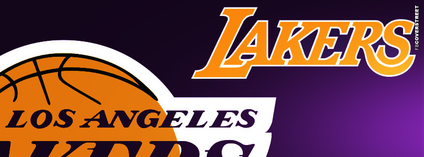 Los Angeles Lakers Logo FB Cover  Facebook cover