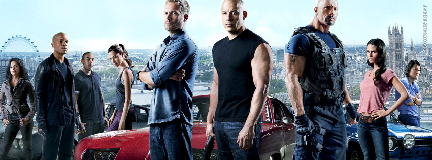 Fast and Furious Main Characters Collab Cover 2  Facebook cover