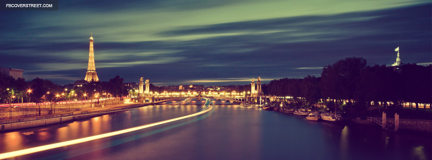 Paris France Facebook Cover