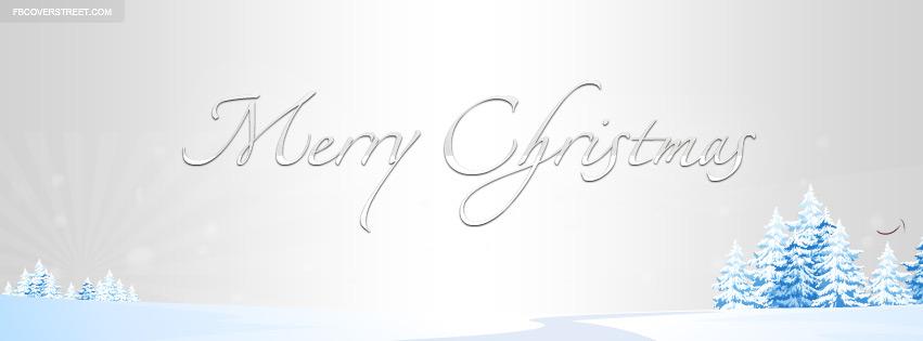 Nice Merry Christmas Cover 2 Facebook Cover - FBCoverStreet.com
