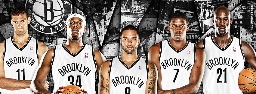 Brooklyn Nets Players  Facebook Cover