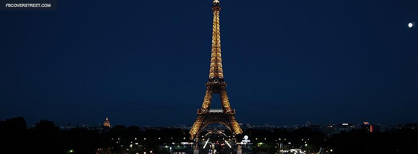 Eiffel Tower Paris France Facebook cover