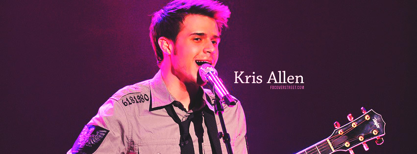 Kris Allen Facebook cover