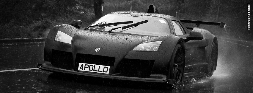 Lamborghini Apollo  Facebook cover