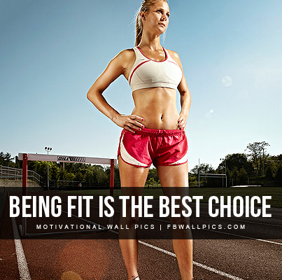 Being Fit Is The Best Choice Facebook picture