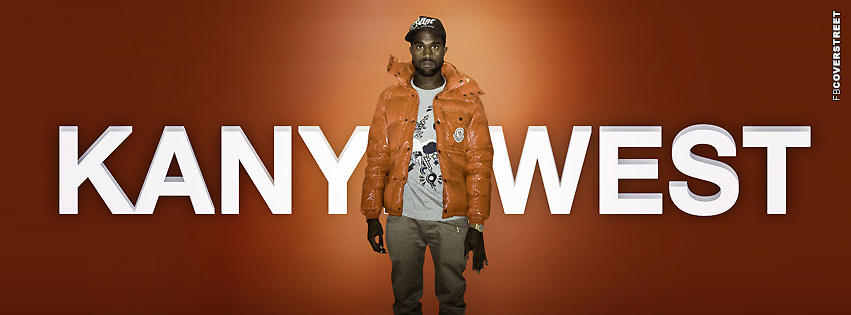 Kanye West Rapper Facebook Cover