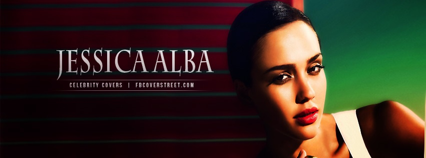 Jessica Alba 3 Facebook Cover