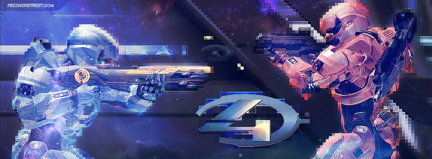 Halo 4 Multiplayer Standoff Facebook Cover