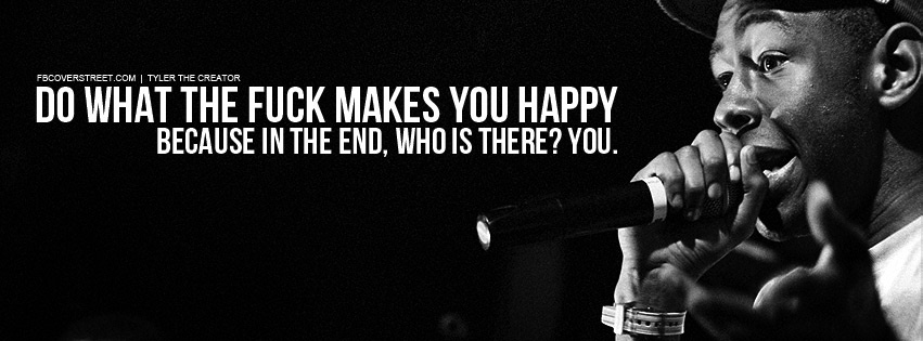 Tyler The Creator Do What Makes You Happy Facebook Cover