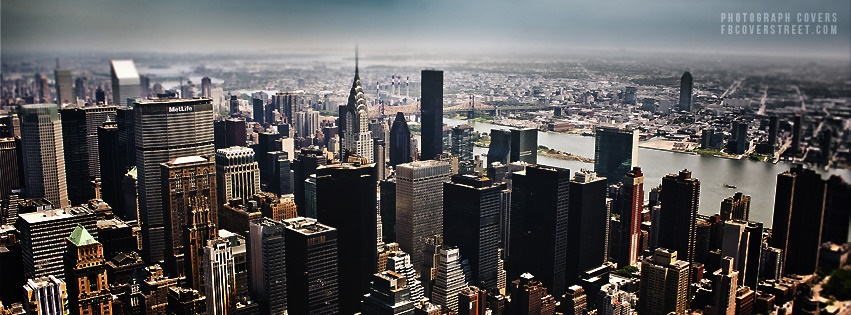 New York City Aerial View Facebook Cover