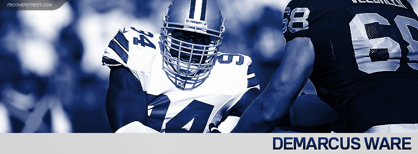 DeMarcus Ware 2012 Dallas Cowboys Facebook cover