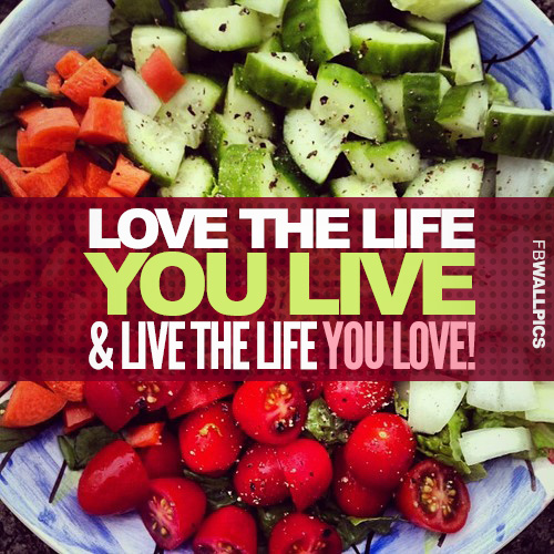 Love The Life You Live Bob Marley Healthy Eating Fitness Quote Facebook picture