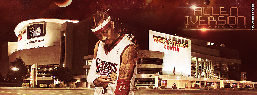Philadelphia 76ers Allen Iverson The Answer  Facebook Cover