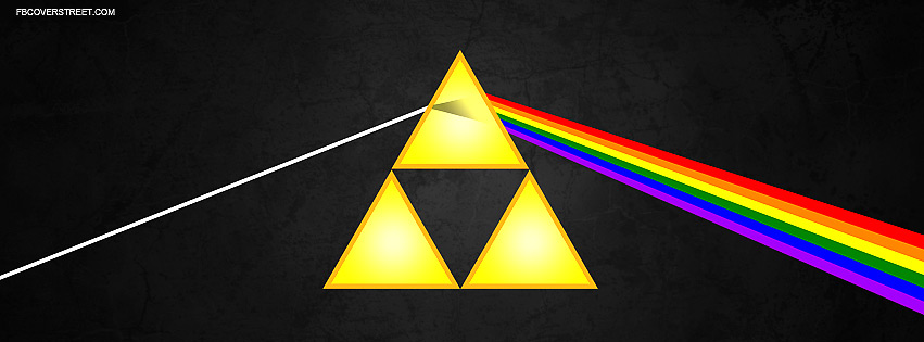 Zelda The Dark Side of The Triforce Facebook Cover