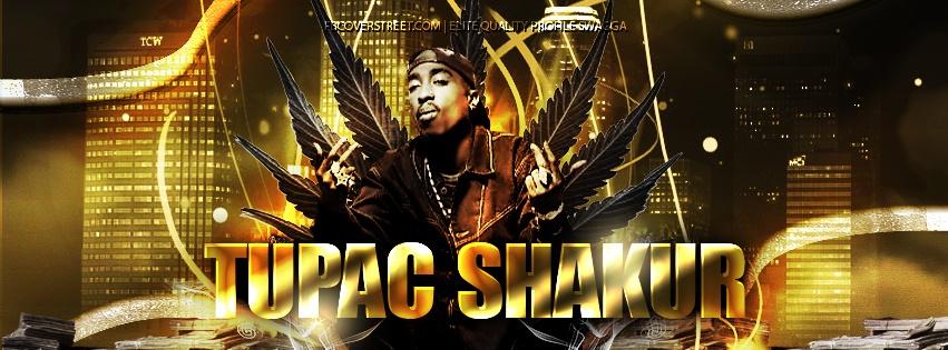 Tupac Shakur Facebook Cover