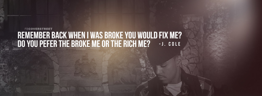 J Cole Premeditated Murder Lyrics Quote Facebook Cover ...