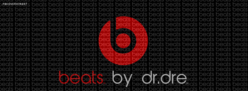 Beats By Dre Logo 2 Facebook Cover
