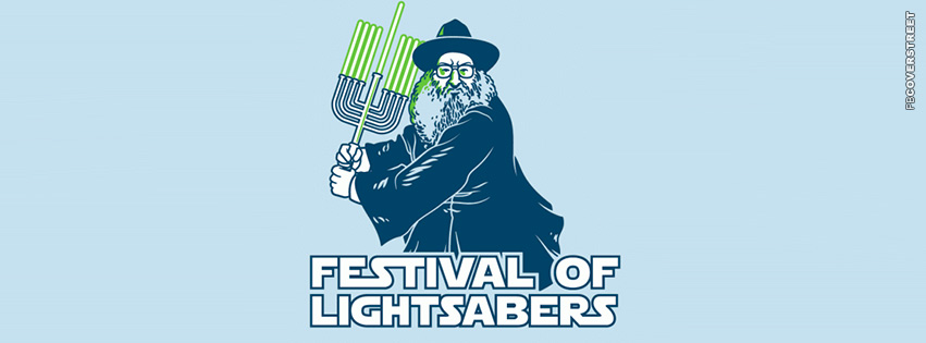 Jew Festival of Lightsabers  Facebook cover