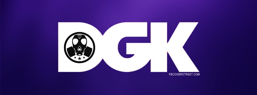 DGK Gas Mask Logo Facebook Cover