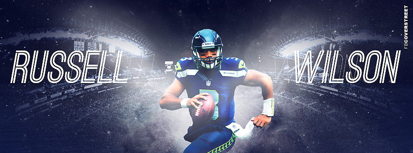 Seattle Seahawks Russell Wilson  Facebook cover