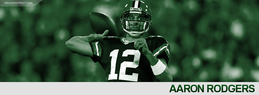 Aaron Rodgers 2012 Green Bay Packers Facebook Cover