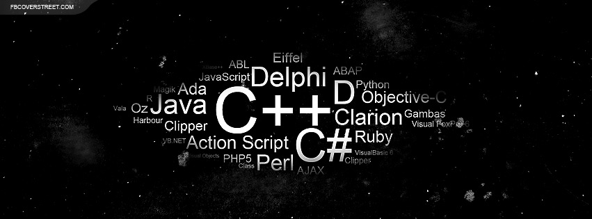 Programming Languages Facebook Cover