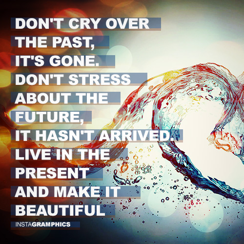 Dont Cry Over The Past Advice Facebook Pic