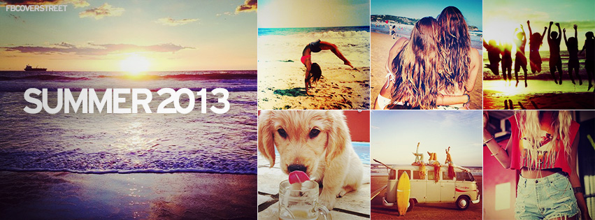 summer 2013 collage facebook cover fbcoverstreet com