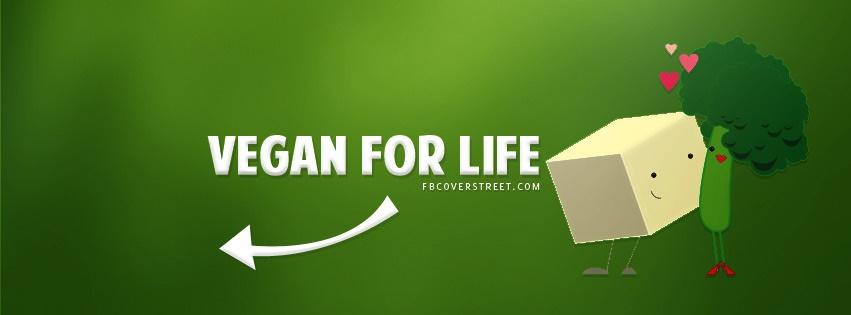 Vegan For Life Facebook Cover