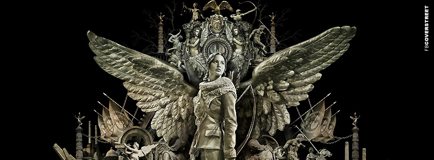 Katnis Everdeen Stone Monument  Facebook Cover