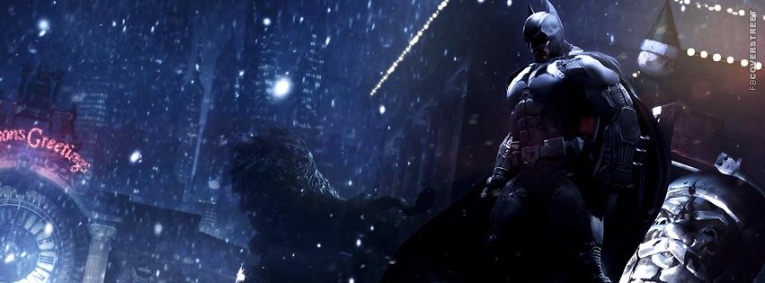 Batman Arkham Origins Stance  Facebook Cover