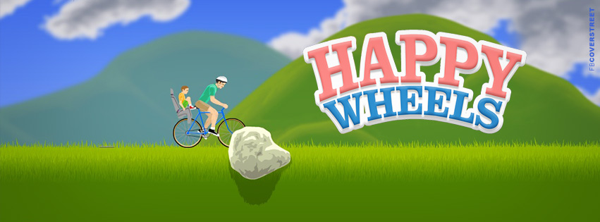 Happy Wheels Game Facebook Cover