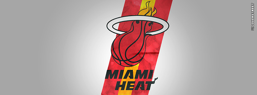 Miami Heat Dirty Logo  Facebook cover