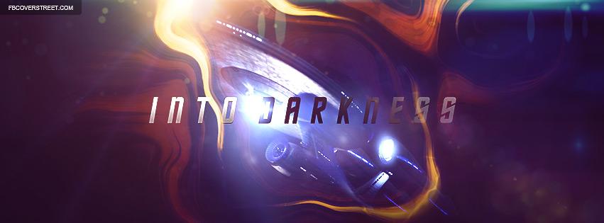 Stark Trek Into Darkness Enterprise Ship Facebook cover