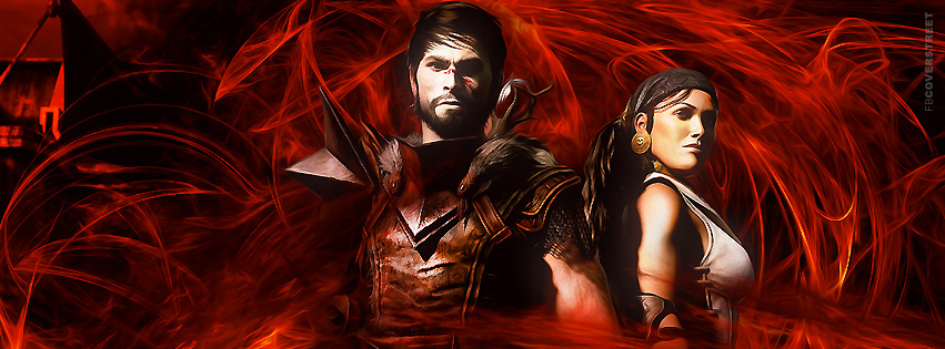 Dragon Age HD Facebook cover