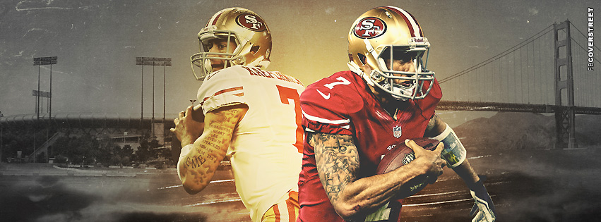 San Francisco 49ers Colin Kaepernick  FB Cover  Facebook cover
