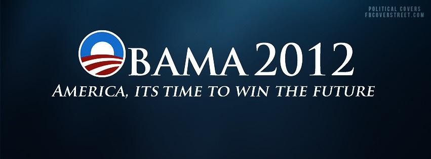 Barack Obama 2012 3 Facebook Cover
