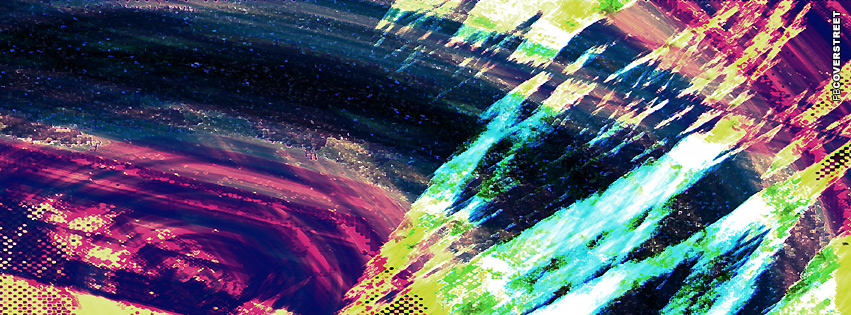 Neon Painted  Facebook cover